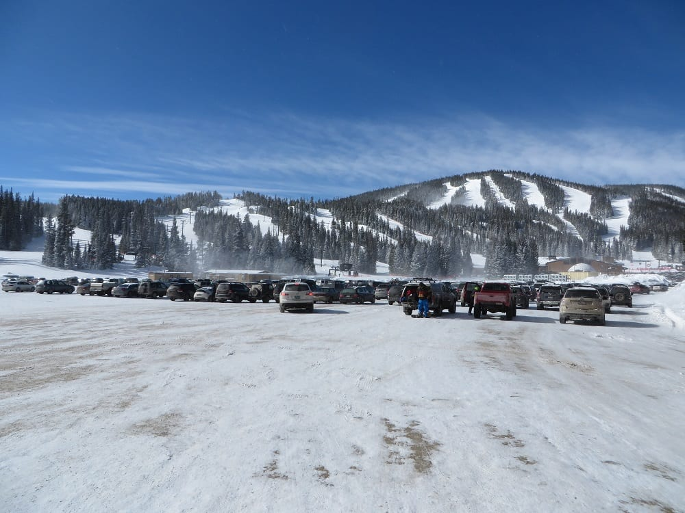 Eldora Mountain Resort Parking Lot