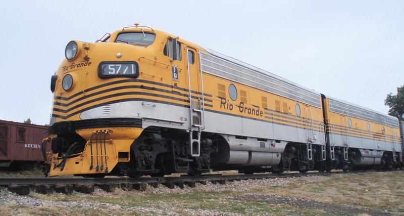 Colorado Railroad Museum Rio Grande F9A 5771