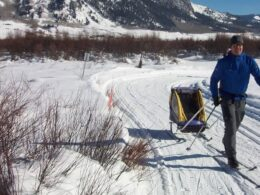 Cross County Skiing Crested Butte