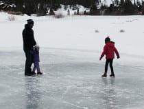 Gold Run Nordic Center Ice Skating