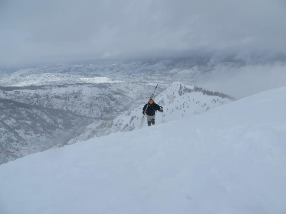 Aspen Highlands Bowl Hiking