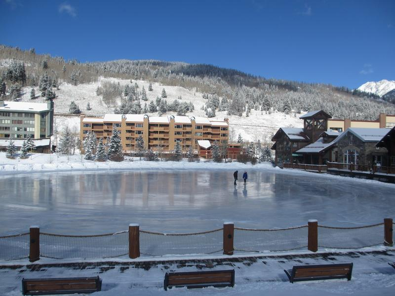 Copper Mountain West Lake Colorado Ice Skating