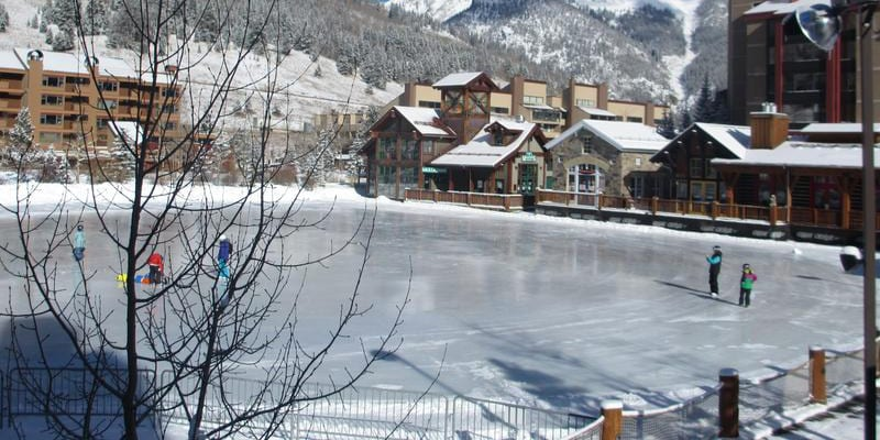 Copper Mountain West Lake Ice Rink