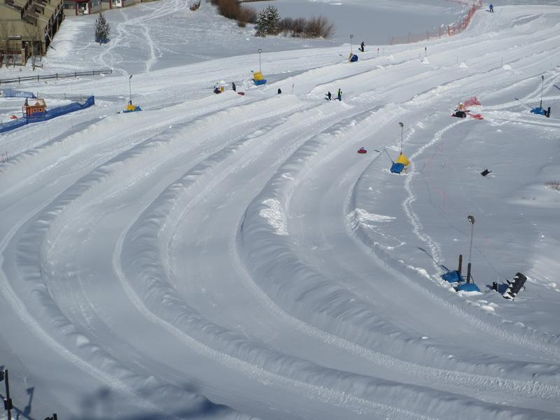 Copper Mountain Tubing Hill Colorado Snow Tubing