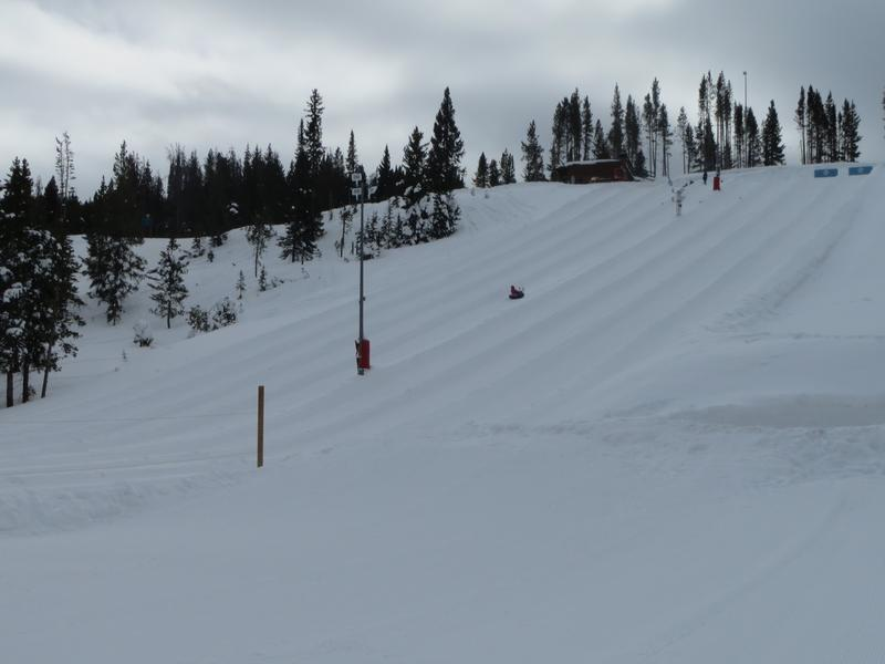 Vail Tubing Hill Colorado Snow Tubing