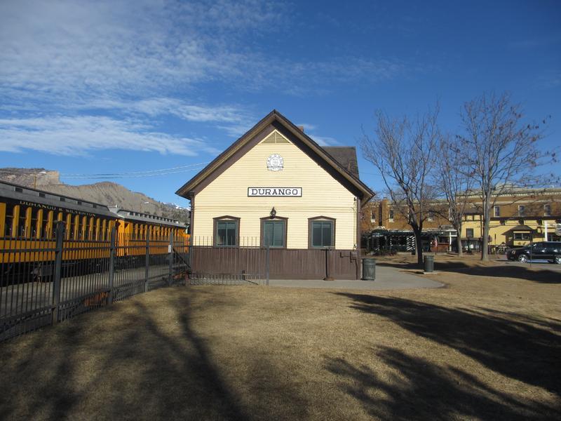 Durango Silverton Narrow Gauge Railroad Train Depot