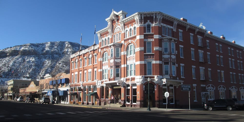 Best Historic Hotels in Colorado Strater