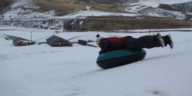 Saddleback Ranch Yee Haw Tubing Hill