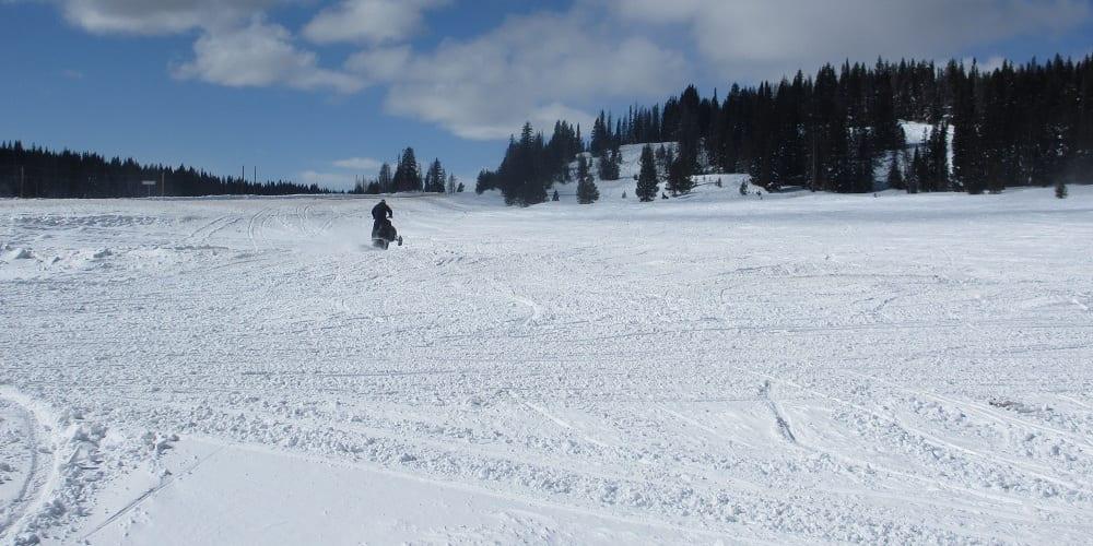Snowmobiling Rabbit Ears Pass
