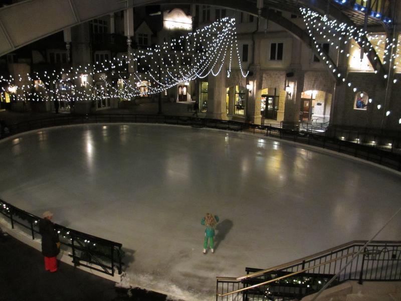 Vail Square Ice Rink Colorado Ice Skating