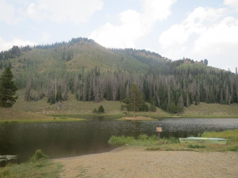 Hahns Peak Lake Routt National Forest