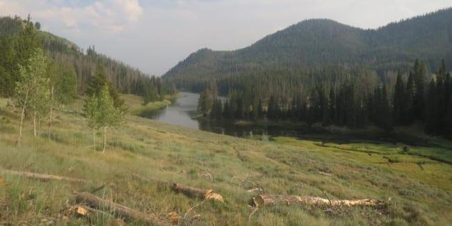 Hahns Peak Lake