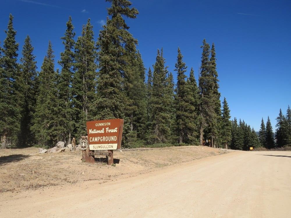 Slumgullion Campground
