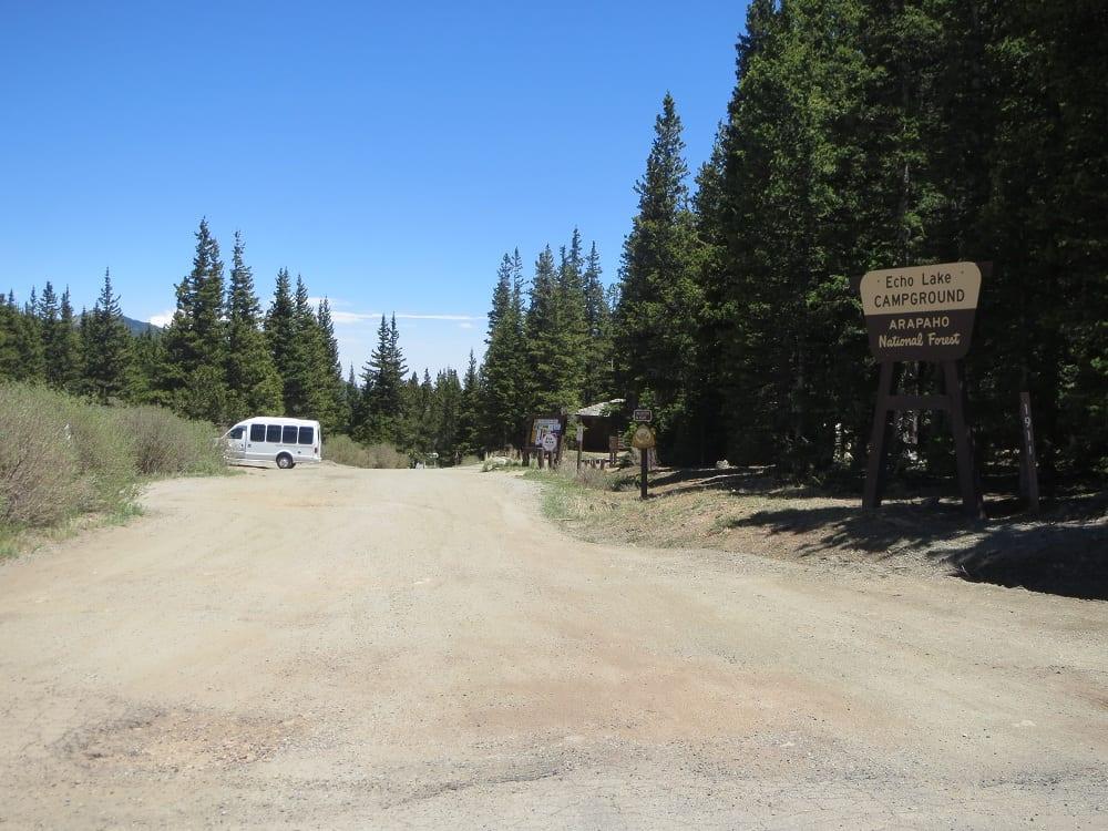 Echo Lake Mountain Park Evergreen Co Camping Fishing