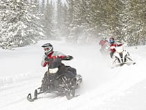 Backbone Adventures Snowmobiling Estes Park