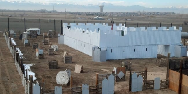 Blitz Paintball Field Castle Colorado