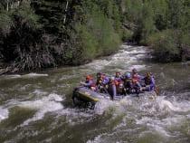 Blue River Rafting