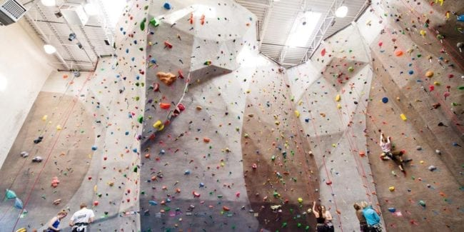 Boulder Rock Club Indoor Climbing