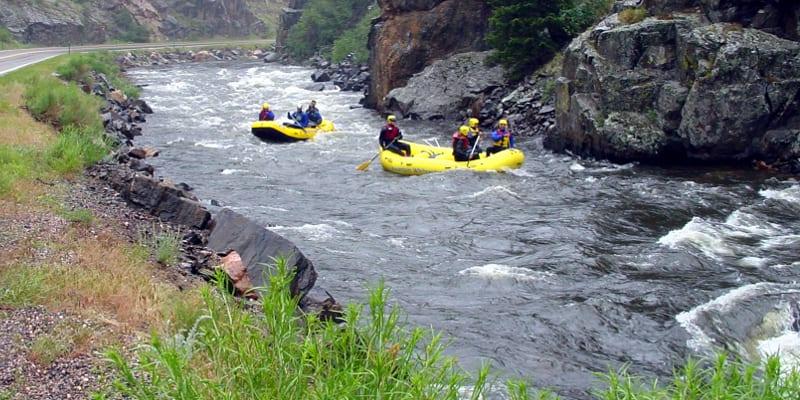 Cache La Poudre River Whitewater Rafting