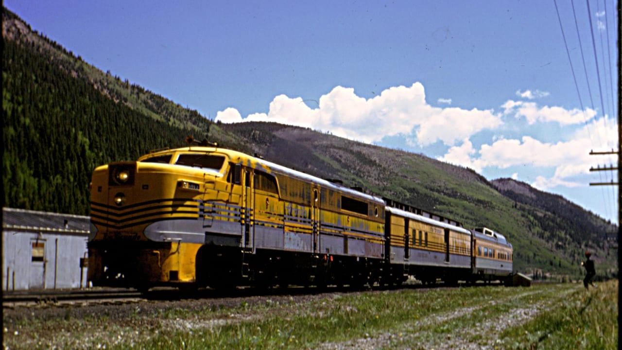 Colorado Railroad Yampa Valley Moffat Tunnel 1966