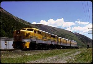 Colorado Railroad Yampa Valley Moffat Tunnel 1966