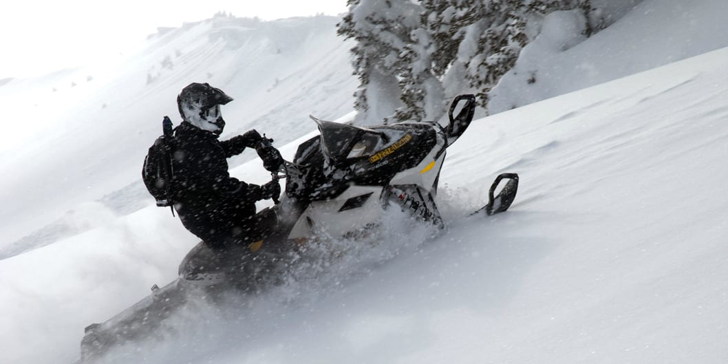 Snowmobiling Grand Lake Colorado