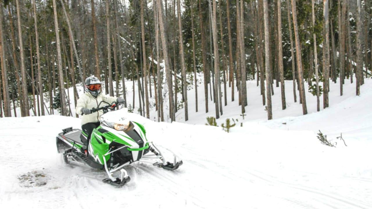 Snowmobiling Grand Lake Colorado