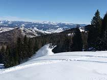 Hahns Peak Roadhouse Snowmobiling