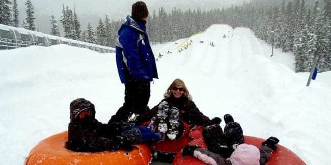 Keystone Adventure Point Tubing Hill
