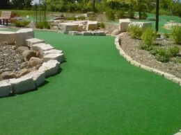 Outdoor Mini Golf Course