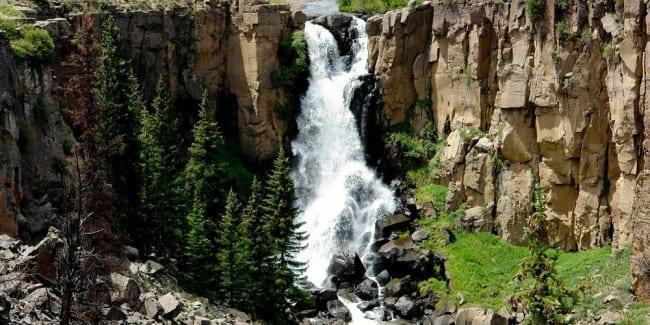 North Clear Creek Falls