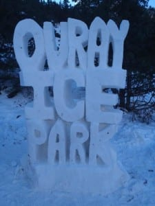 Ouray Ice Festival Sculpture