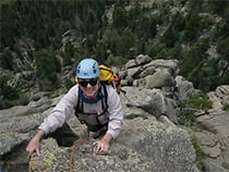 Peak Mountain Guides Rock Climbing
