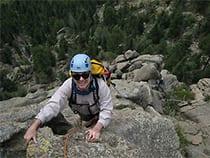 Peak Mountain Guides Rock Climbing