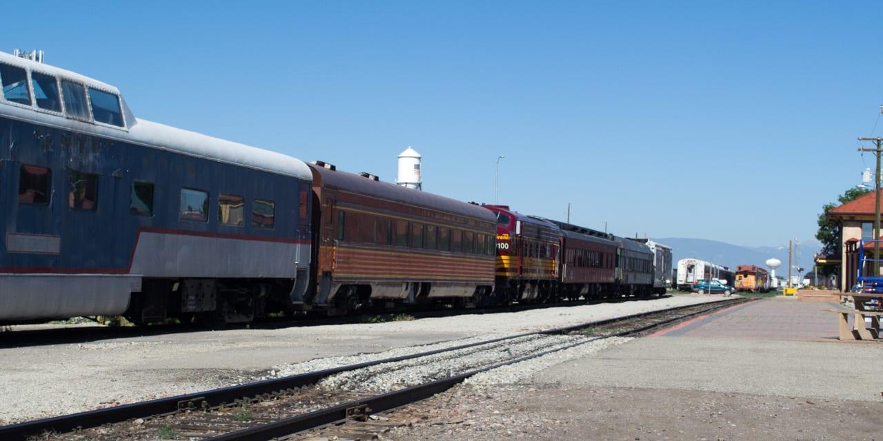 Rio Grande Scenic Railway Alamosa Train Depot