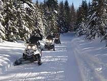 Saddleback Ranch Snowmobile Tour