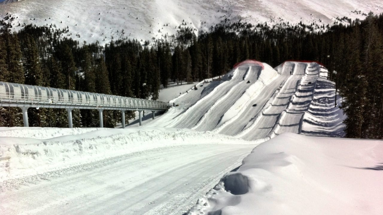 Keystone Resort Snow Tubing Hill