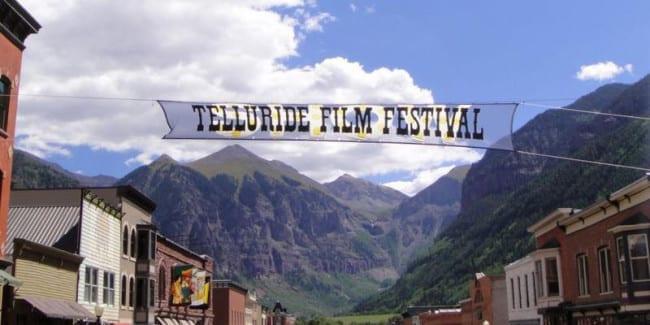 Telluride Film Festival Colorado Banner