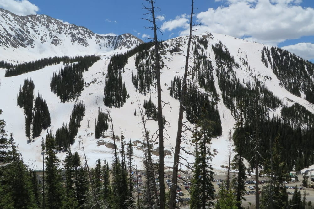 Arapahoe Basin Ski Area June