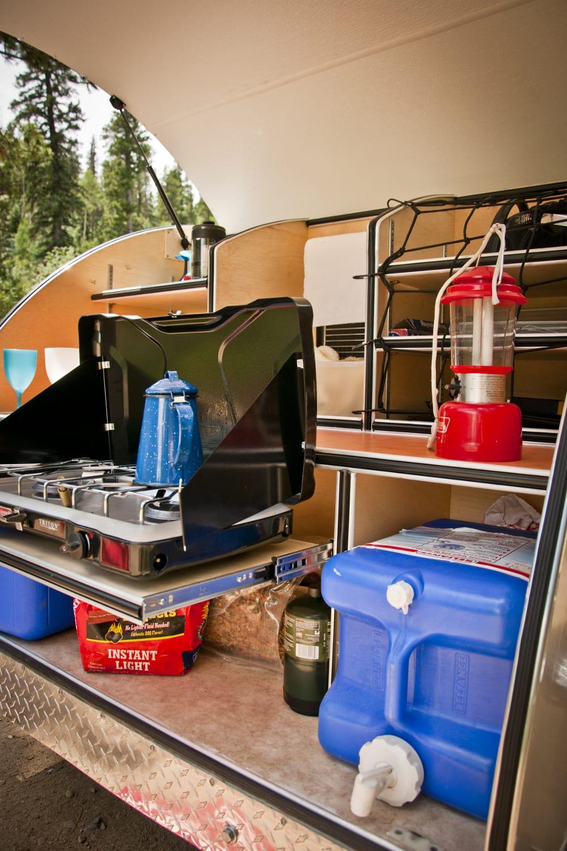 Teardrop Camper Kitchen For Sale