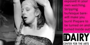 Conscious Burlesque at Boulder Fringe Festival