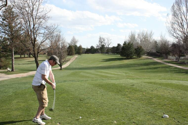 Wellshire Golf Course Tee Off