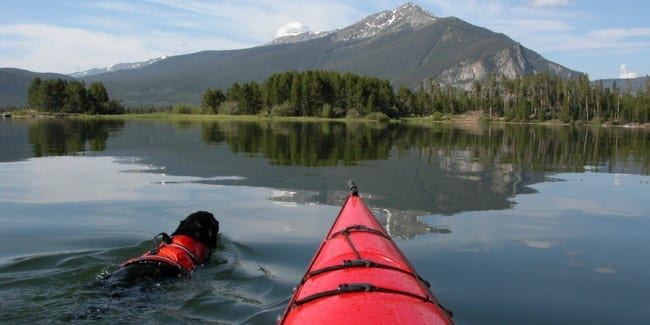 Lake Dillon Kayaking