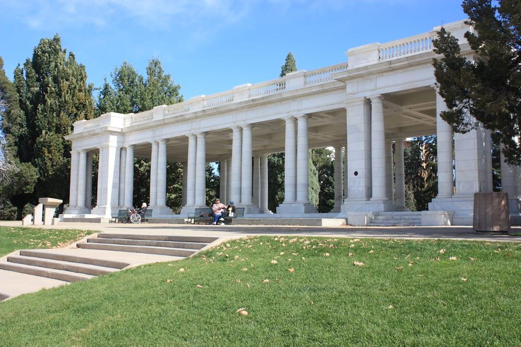 Cheesman Park Greek Pavillon