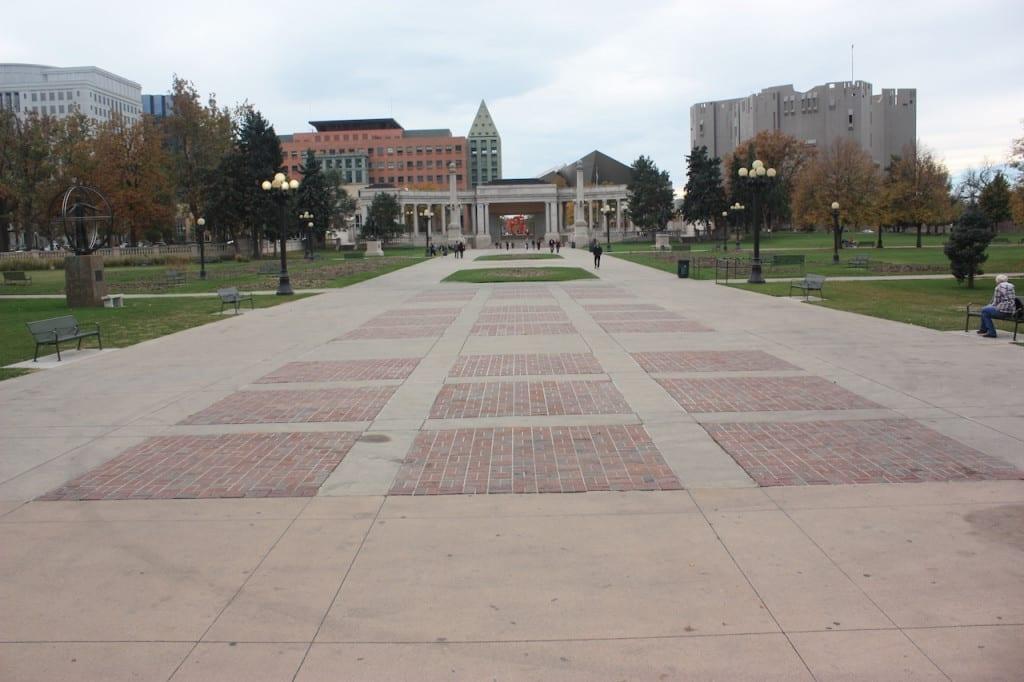 Civic Center Park Denver Colorado City And County Parks