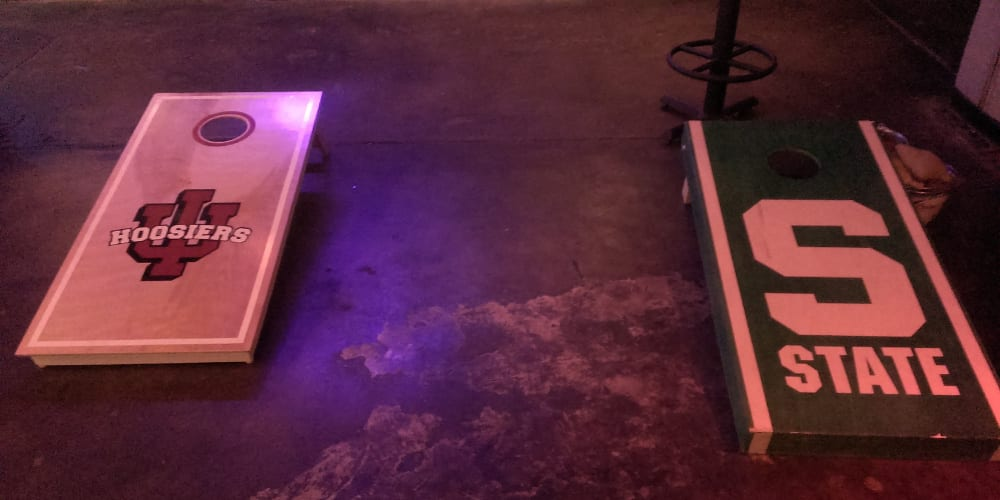 Blake Street Tavern Cornhole Boards