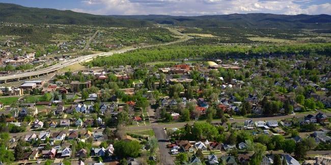 Southern Trinidad Colorado Aerial View