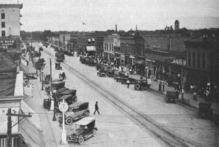 Downtown Grand Junction 1920s