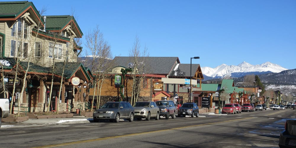 Frisco Colorado Main Street