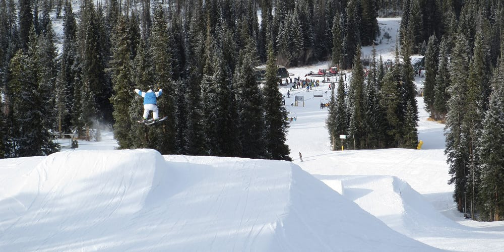 Winter Park Ski Resort Terrain Park